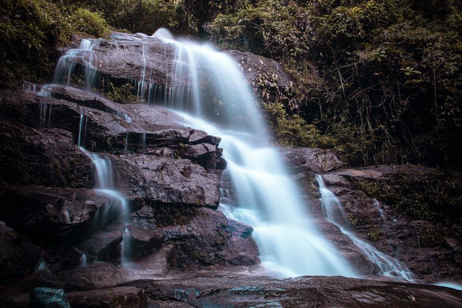 Long exposure waterfall, Thailand
