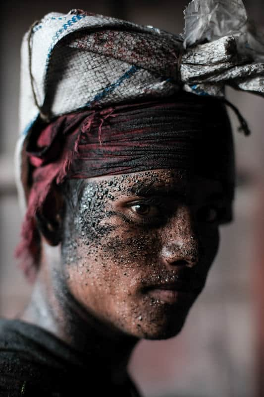 Man in Bangladesh portrait