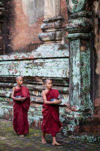 Novice brothers in Myanmar