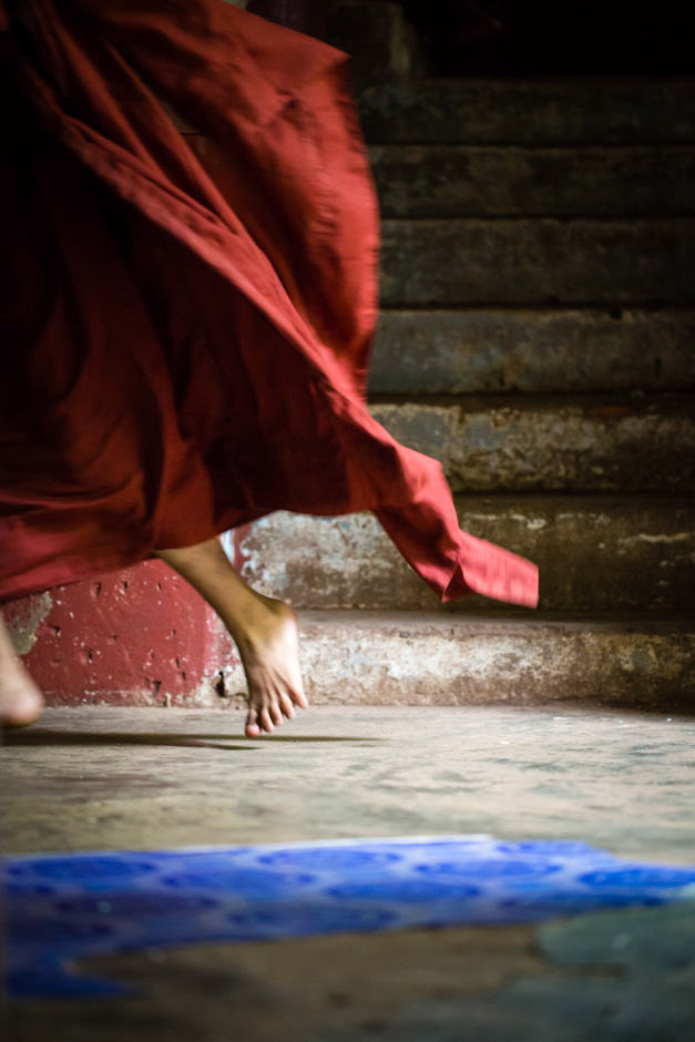 Burmese monk's robe