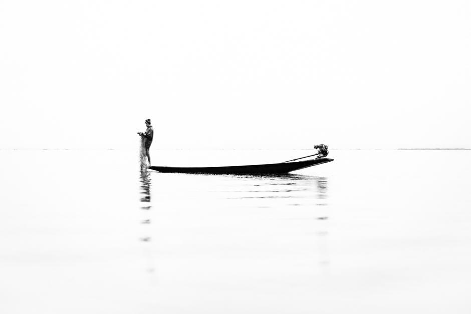 traditional fishing of Myanmar