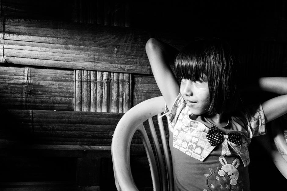 Nepalese girl in Myanmar