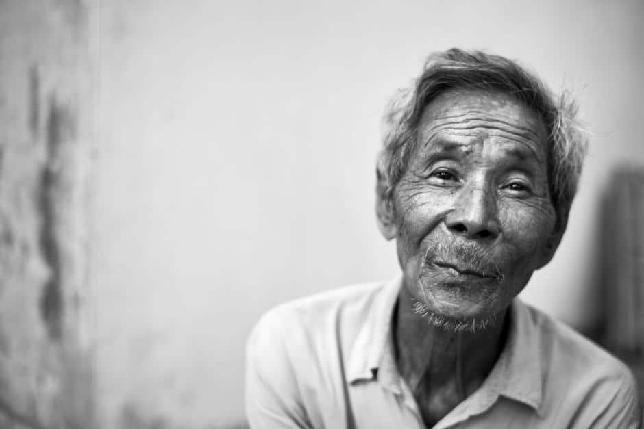 old Vietnamese man