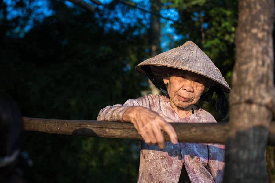 Vietnamese woman portrait
