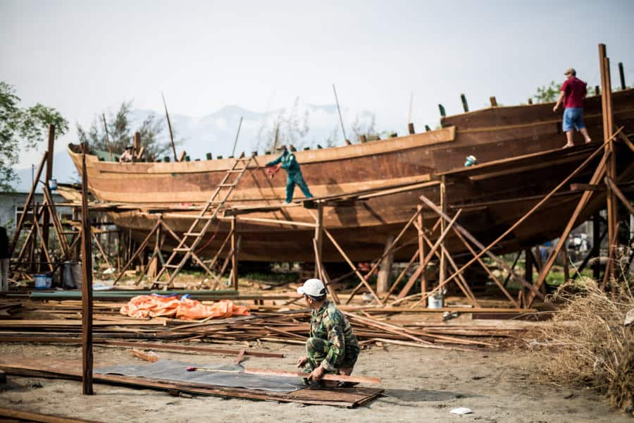 ship building in Vietnam