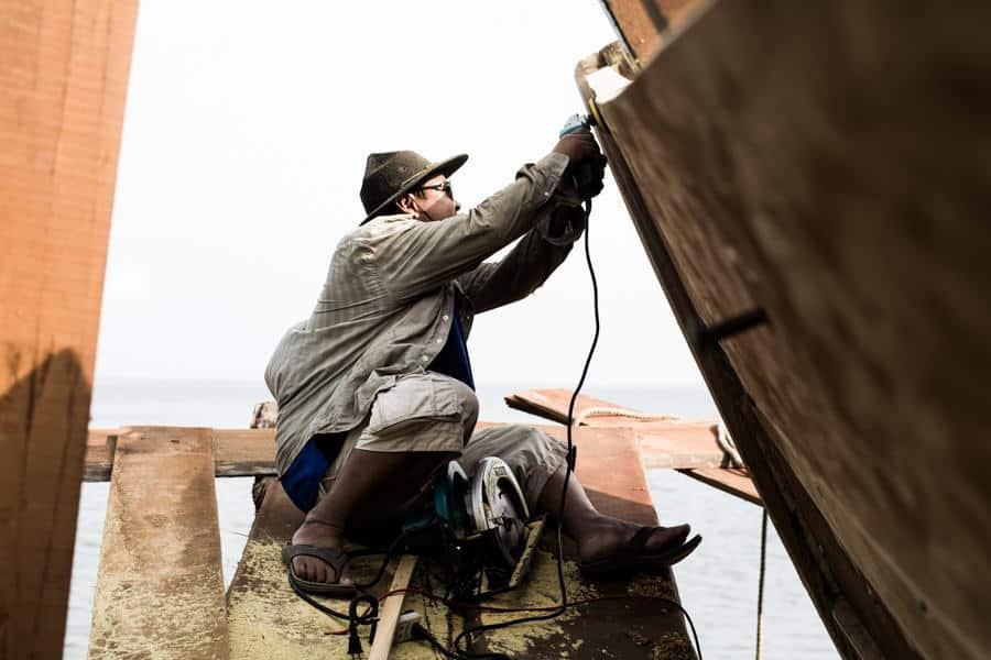 boat builder in Vietnam