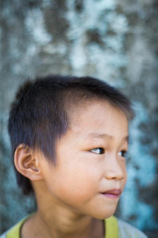 Vietnamese boy portrait