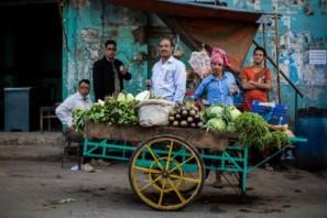 A group of men posing in Sylhet Bangladesh