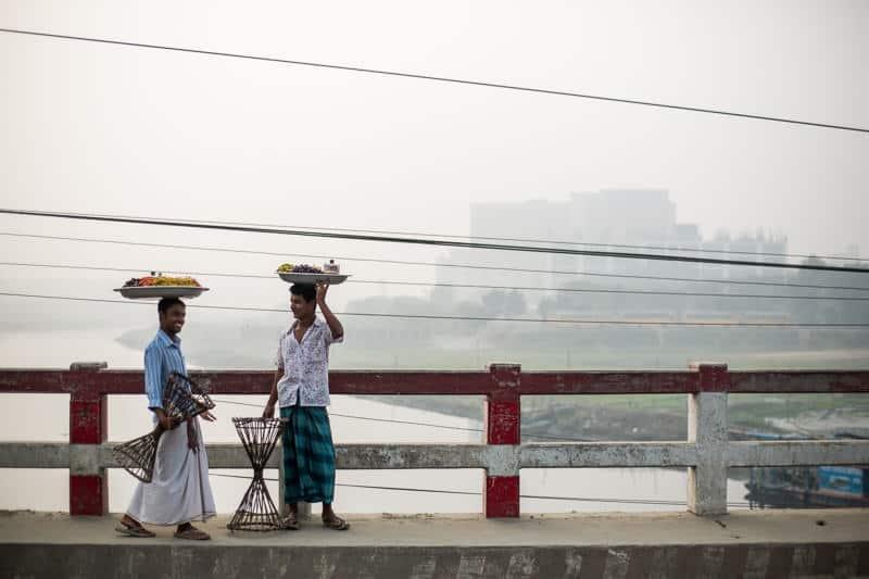 2 men in Bangladesh