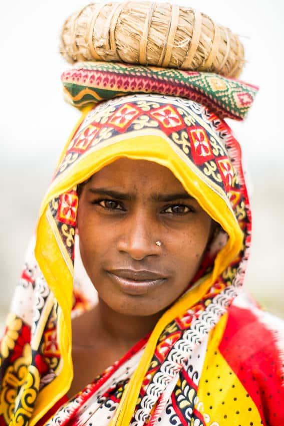 Bengali woman worker