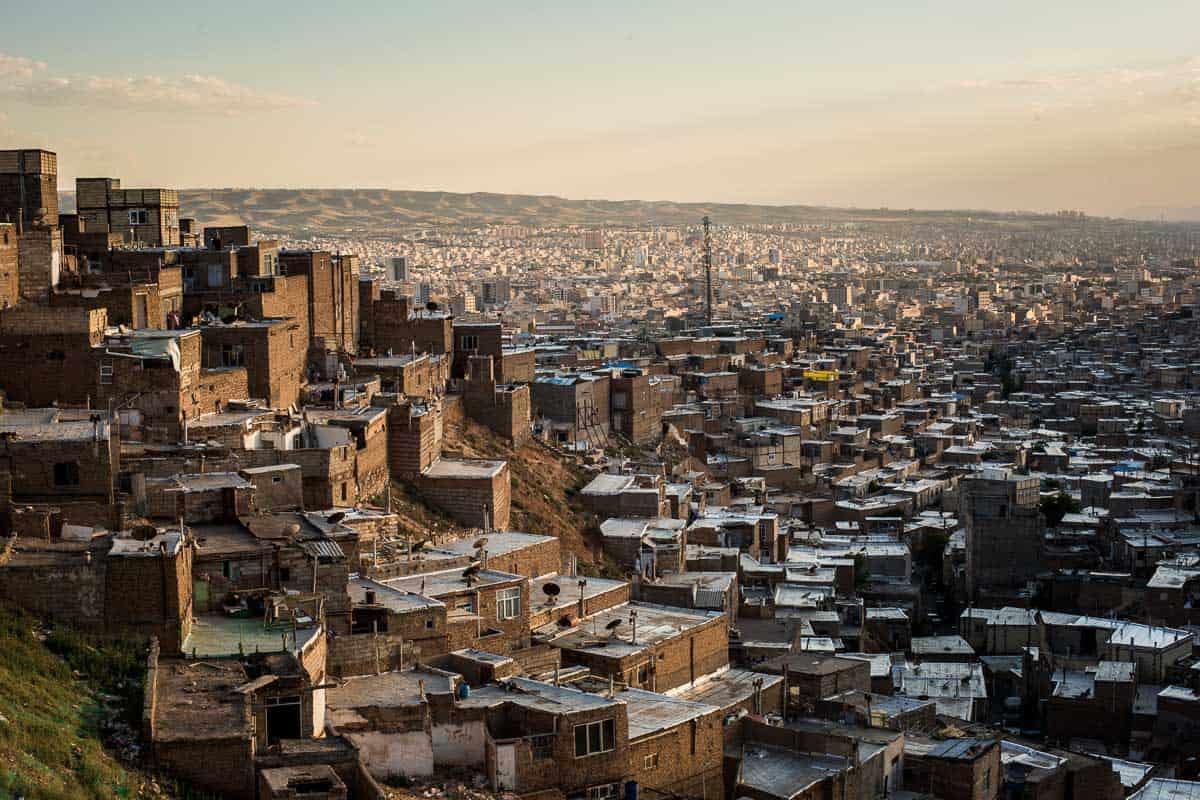 View of Tabriz