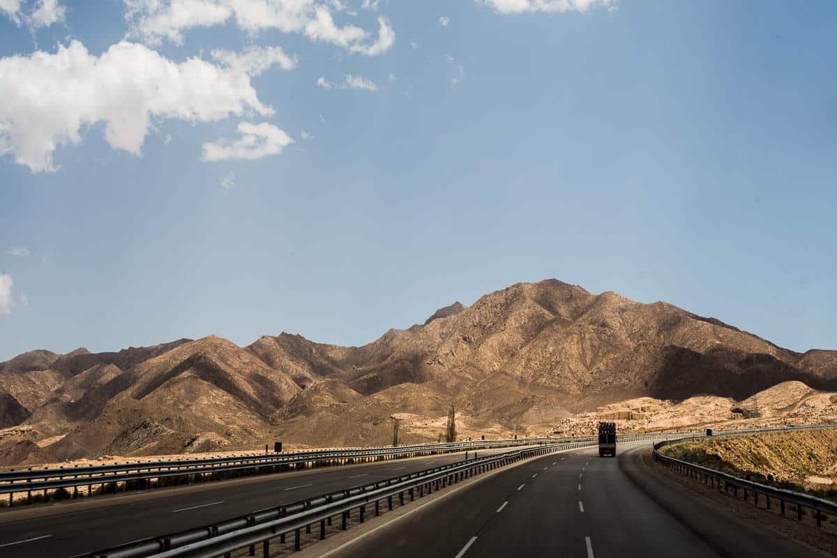 On the way to Isfahan