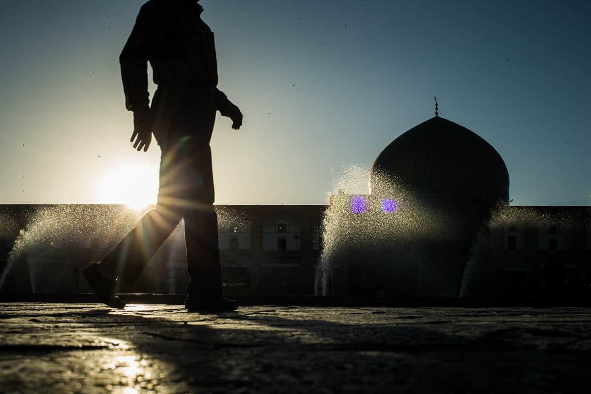 Isfahan silhouette