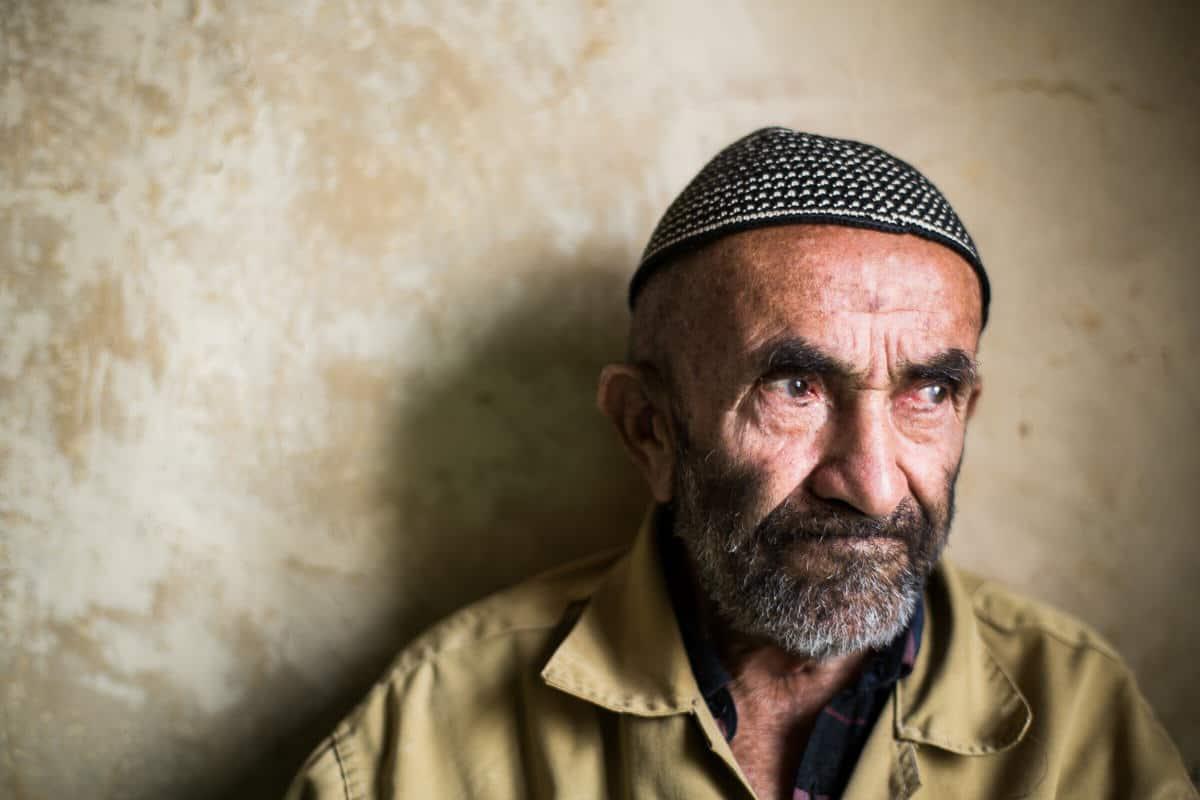 Old man in Palangan