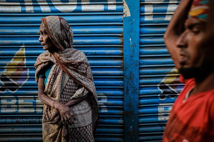 Bengali old lady