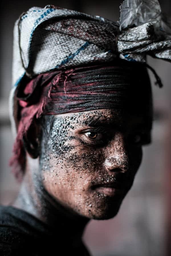 Worker in Bangladesh portrait