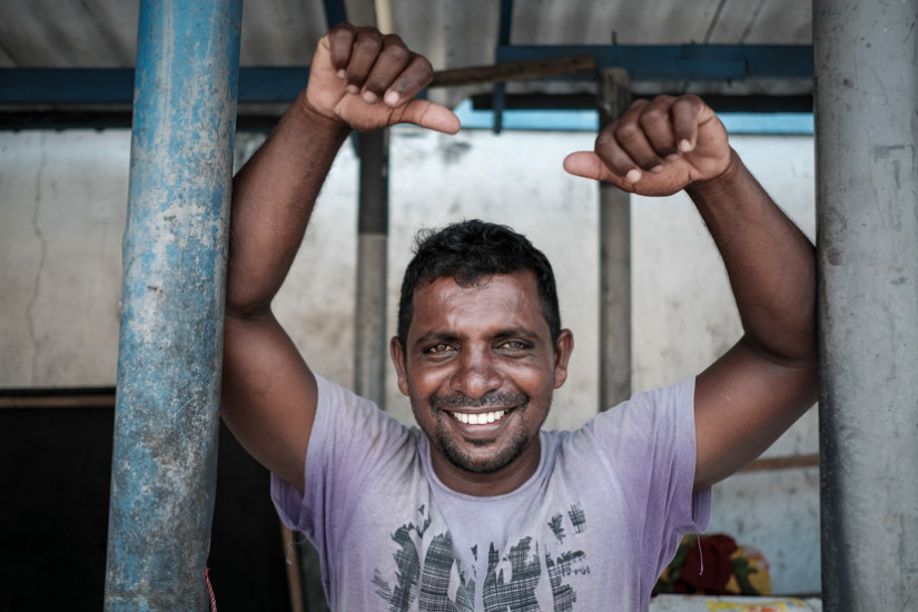 A Welcome Smile In Friendly Sri Lanka, A Man Poses In Front Of His Shop In Sri Lanka - Pics Of Asia Photo Tours
