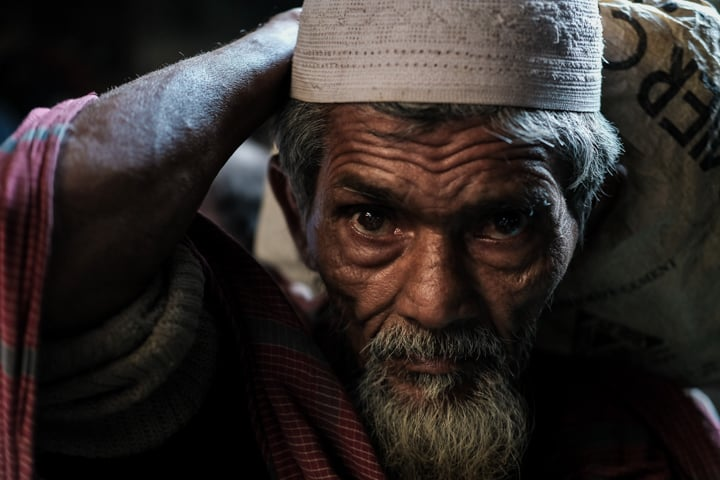 man in Bangladesh