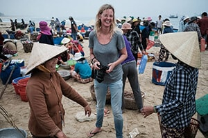 Pics of Asia travel photography tour participant in Vietnam