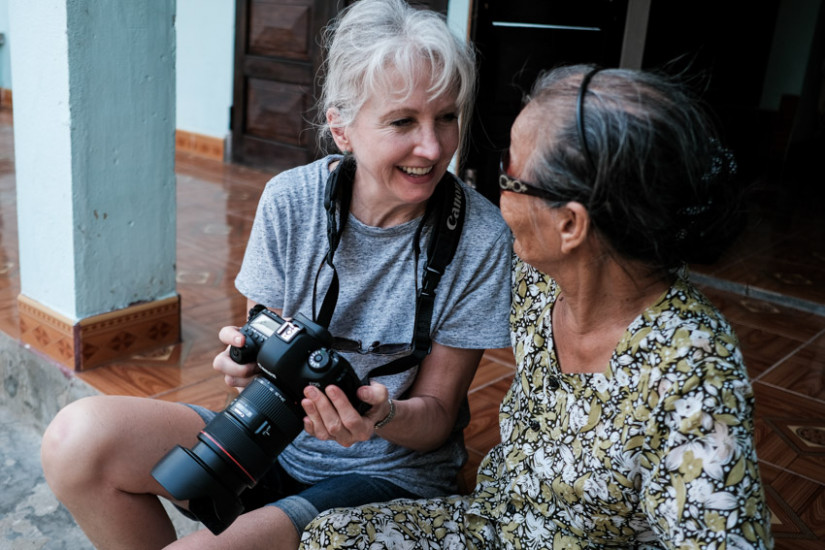 Interacting with the locals on Pics of Asia photography tour