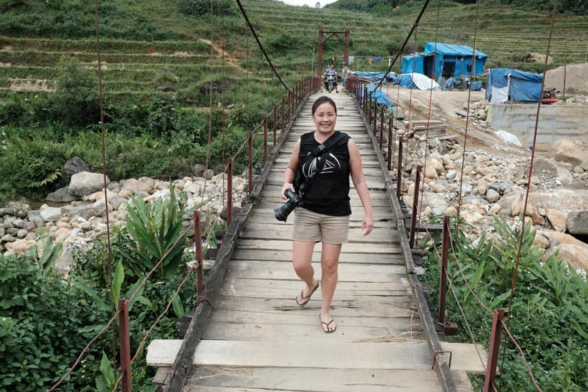 Photography student on a photo tour in North Vietnam with Pics of Asia
