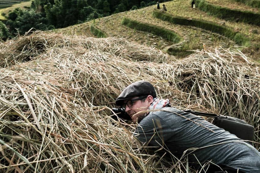 Getting dirty for great photos with Pics of Asia in North Vietnam
