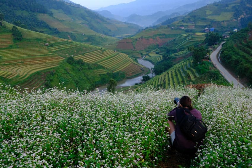 Taking photos of North Vietnam on a photography tour with Pics of Asia