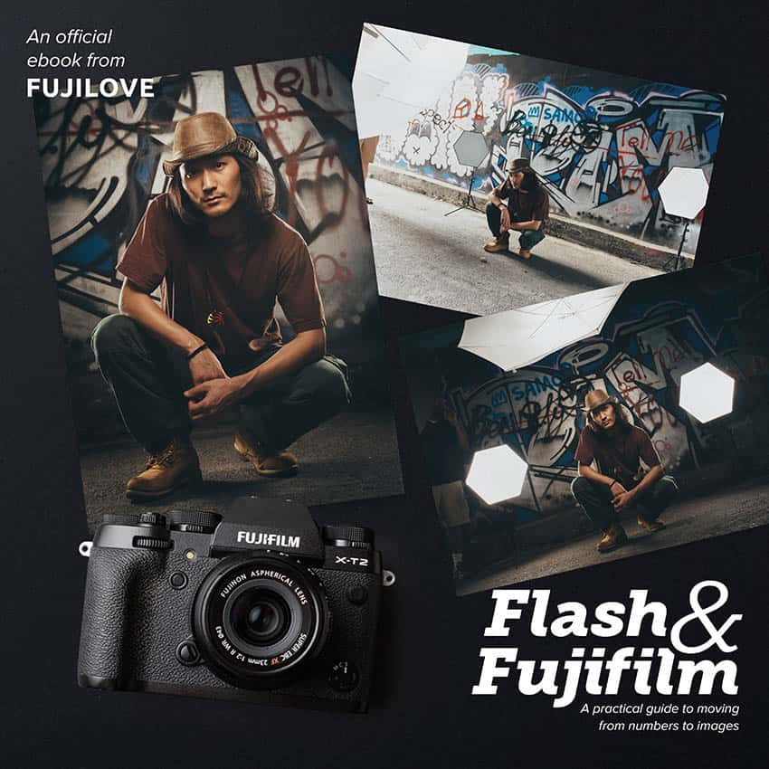 An extract from the photography eBook Flash and Fujifilm by Dylan Goldby