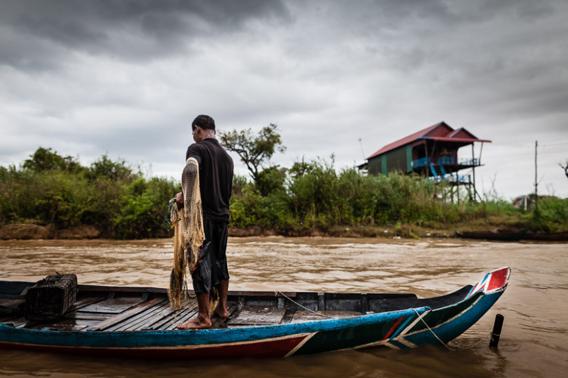 Regis Binard captures the local life along the Mekong for a joint photography tour in Vietnam and Cambodia