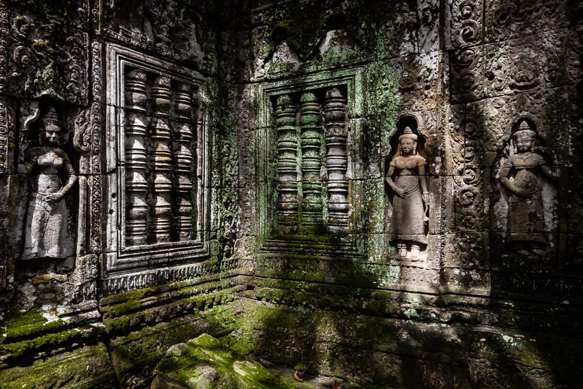 Image by Regis Binard of a temple in Angkor for our Cambodia Vietnam photography tour in 2019