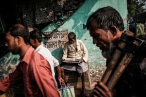 Image captured in the streets of Kolkata during a street photography workshop by Pics of Asia