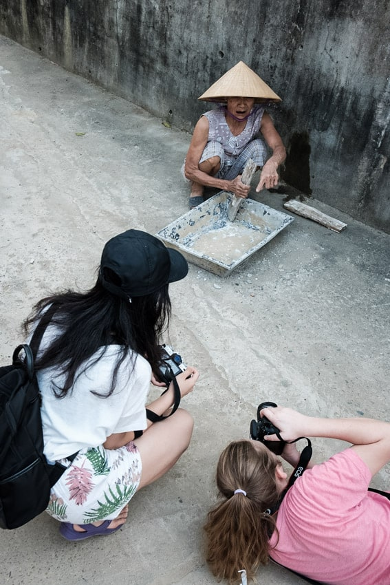 children learning about photography in Vietnam with Pics of Asia