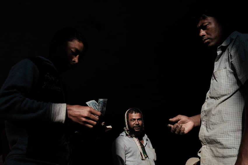Composing great images in Sylhet vegetable market with Pics of Asia