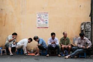 street scene in Vietnam to illustrate Pics of Asia photo walk in Saigon