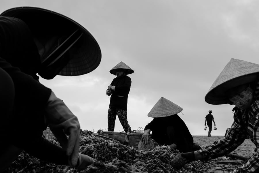 An image taken in Vietnam to illustrate rhythm in photography