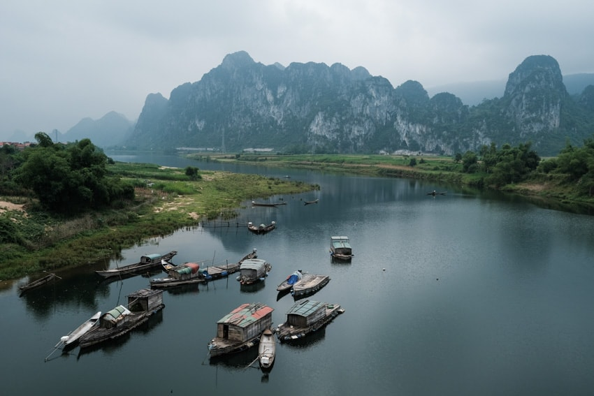 landscape photo of Phong Nha national park with Pics of Asia photo tour