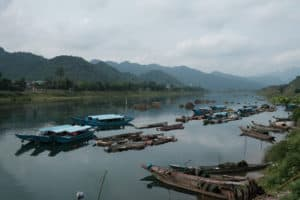 Phong Nha national park landscape
