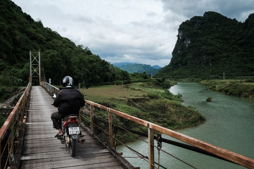 discovering the countryside of Phong Nha national park with Pics of Asia