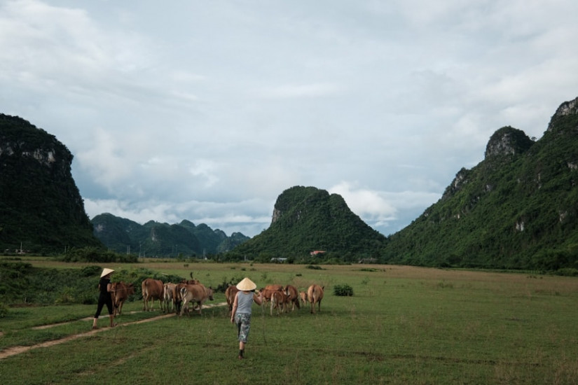 exploring remote villages in Phong Nha with Pics of Asia