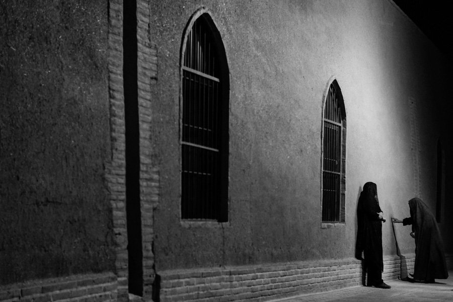 Night photography in Yazd, Iran with Pics of Asia