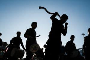 Religious festival in Mashaad Iran