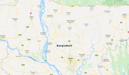 bangladesh photo tour map