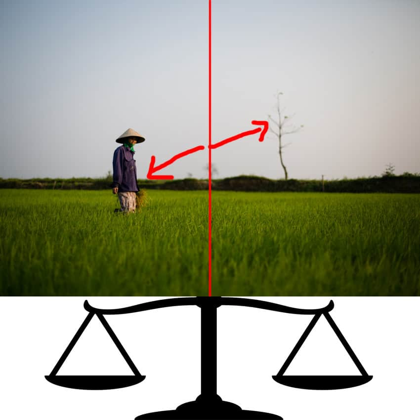 photography tutorial about balance by pics of asia